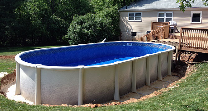 Above Ground Pools in Whiteford