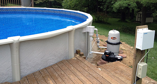 Above Ground Pools in Fallston