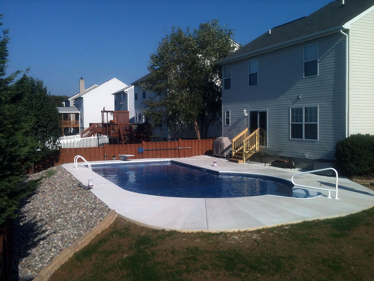 Inground Pools in Fallston