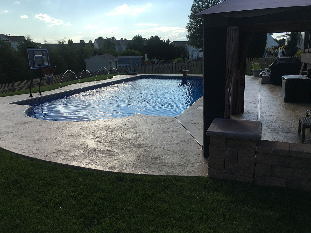 Inground Pools in Reisterstown