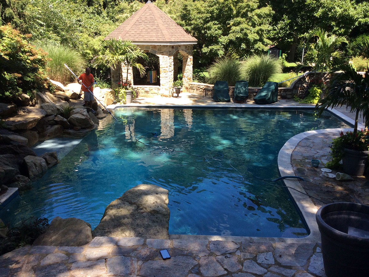 Pool Service Plans in Fawn Grove