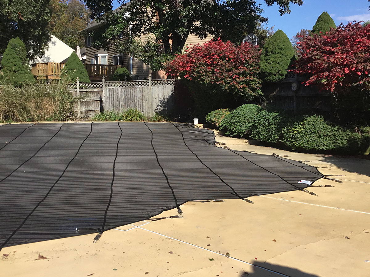 Inground Pool Safety Covers in North Harford